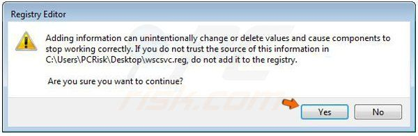 Windows Vista Braviax / Fakerean Registry Fix